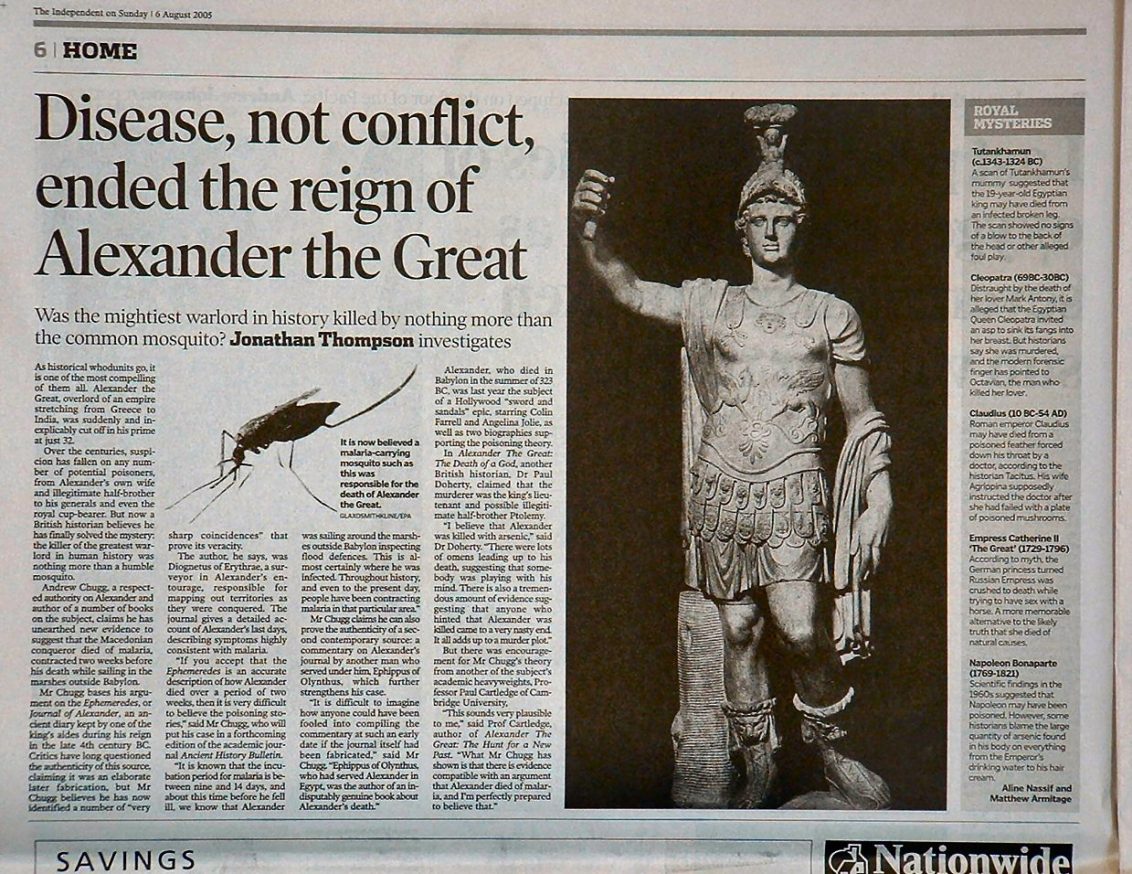 Alexander the Great Death Essay